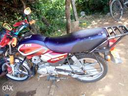 Well maintained motorbike