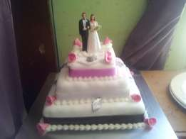 Cakes for all ocassions,weddings,birthdays,21st,fancies,baby showers,
