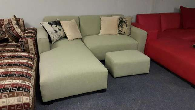 The jozi l-shape,choose your fabric and colour Midrand - image 2