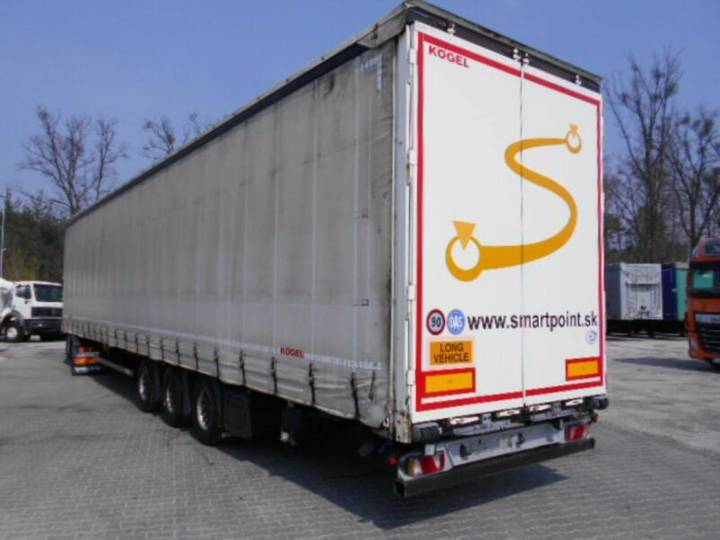 Koegel SNCO24 MEGALINER, Hubdach,Lift Achse - 2015