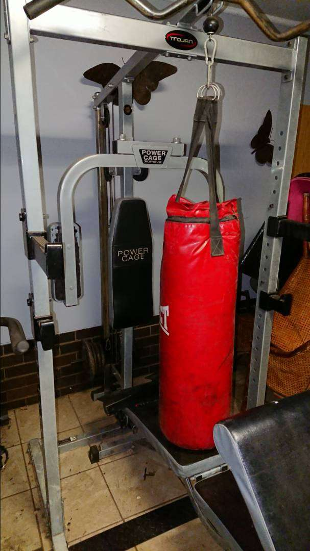 356.5kg complete garage gym set for weight strength training gym