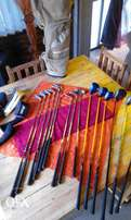 Mix golf set. drivers and complete set of irons
