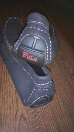 polo v black unique leather loafers size 43 and 44 Nairobi CBD - image 2