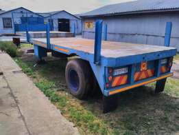 Go axle Semi trailer stepped deck low bed