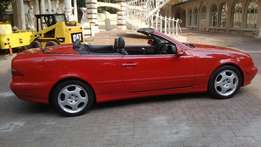 Mercedes 430 v8 cabriolet new tyres good condition