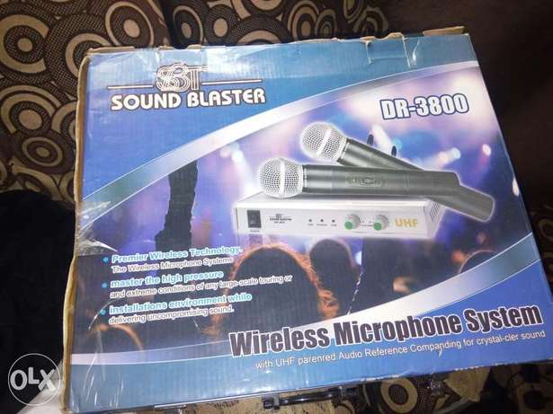 SBT Sound Blaster Wireless Mic Lagos - image 3