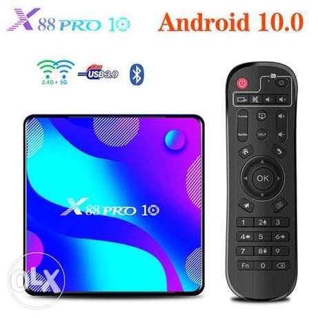 X88 PRO10 STB Android10.0 RK3318 5GWIFI Bluetooth HD Network ST