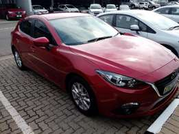 2015 Mazda 3 1.6 Dynamic with 26 000KM