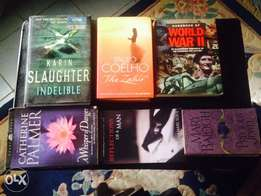 A collection of must read Novels (5 books for 3,500 naira)