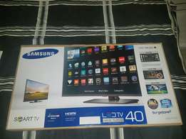 Samsung 40 inch brand new boxed smart tv led full HD wifi apps YouTube
