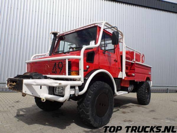 Unimog MB U1550 - 1995