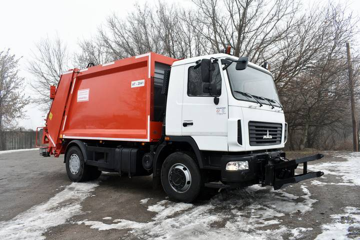Maz new at 2041 2 na shassi  5340s2 garbage truck - 2019