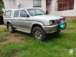 Sell or swop mitsubishi colt 4x4 double cab
