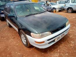 Toyota G touring model 1999 green color in excellent condition