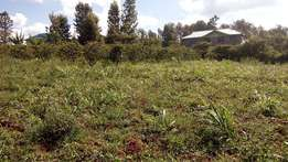 50x100 Residential plot for sale at Kihingo Kiambu Town.