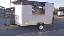 For sports/social events a new - 3,0m Fast Food trailer - equipped