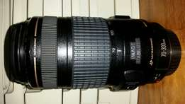 Canon 70-300 IS USM lens