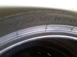 20 inch BMW X5 Runflat Tyres for sale