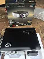 Like brand new in box HD Projector with remote & D-Link WiFi Router...