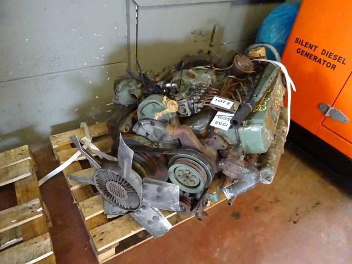 Mercedes-Benz 6 Cilinder Engine for 814D Complete engine for truck