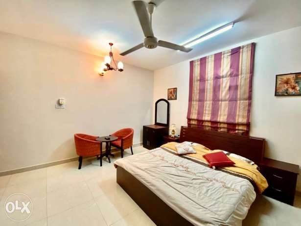 fully furnished studio in alzibah