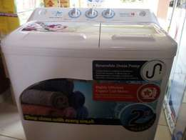 Scanfrost washing machine. We have it in diff product and sizes.