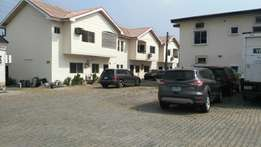Very decent 4 bedroom detached duplex to let in an estate at Yaba GRA