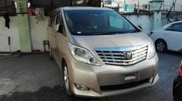 Toyota Alphard 2009 cash or hire purchase