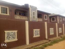 Newly built mini flat to let in off elepe igede road mowo kekere ikd