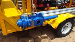 borehole yield testing and pump installations