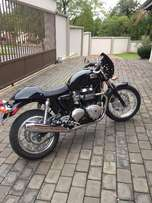 Mint condition Triumph Thruxton 900