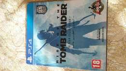 Ps4 game rise of the tomb raider