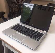 "Black and silver HP ENVY Ultrabook 1043tx 14"" (Core i5, 250GB SSD, 8GB"