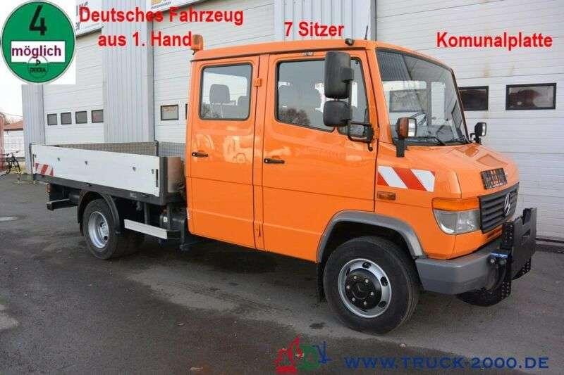 Mercedes-Benz Vario 818d Kipper 7 Sitzer Mit Winterdienst 1.hd - 2005