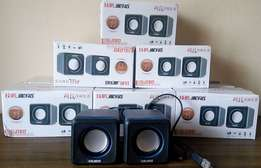BRAND NEW USB Laptop / PC speakers. Massive Bass on Sale!
