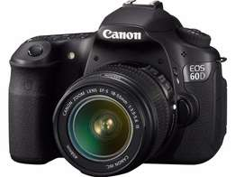 60D Canon with 18-55mm lens
