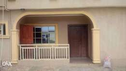 Tastefully 3bedroom flat .for 2 occupiers in a compound.