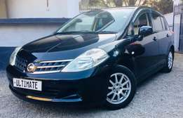 nissan tiida 2010 model KCN 799,999/= deposit only 155,000/=and drive