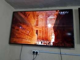 "65"" SAMSUNG SAMRT UHD ultra high definition 4K UE65JU6800"
