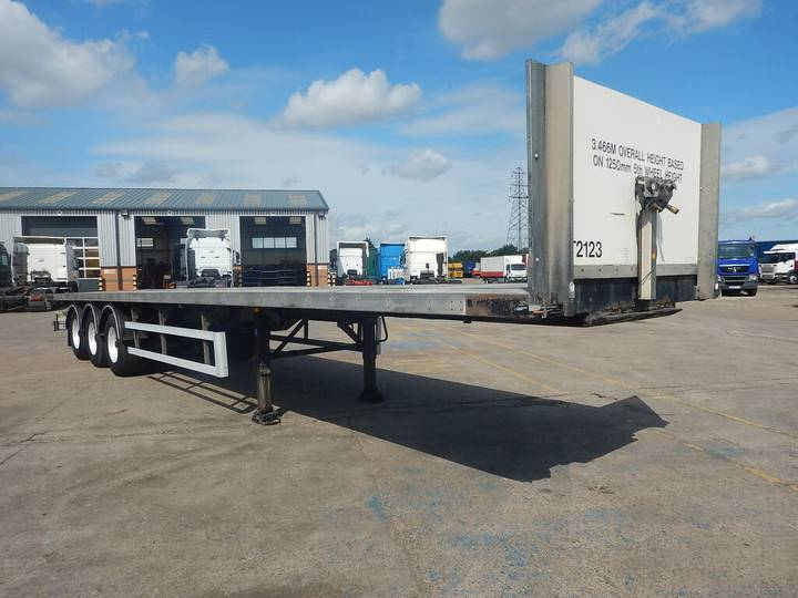 SDC 44FT FLATBED TRAILER - 2008 - C257033 - 2008