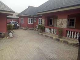luxury 4bedroom bungalow fully finished off east west rd