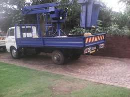 Cherry Picker Truck with Petrol Motor for sale