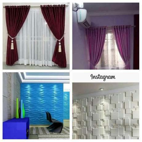 Home curtains and 4G Lagos Mainland - image 1