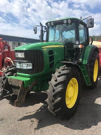 John Deere 6830 Premium Traktor - 2008