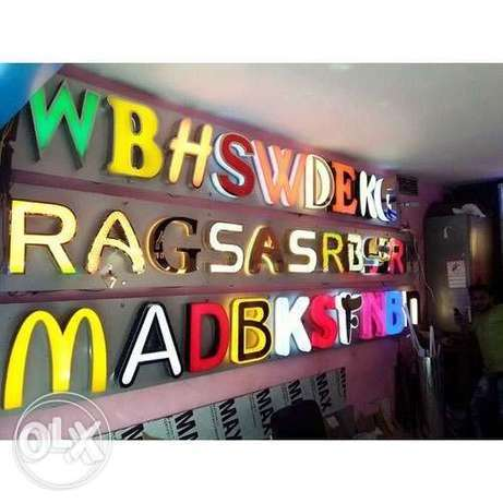3D board, sign board and all types of printing, wallpapers, stickers