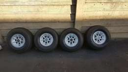 Club car golf cart 8' wheels and tyres