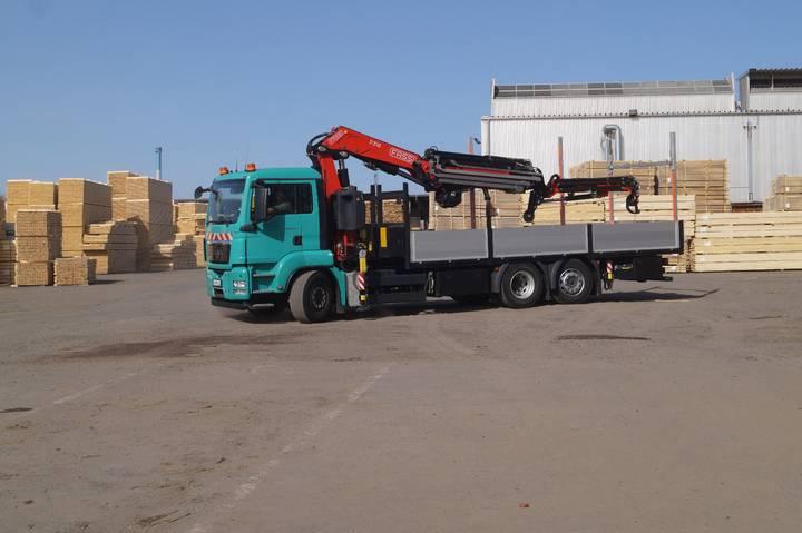 MAN TGS 26 440 GRUA - 2011