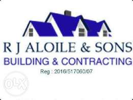 building work, building maintenance & repairs & handyman