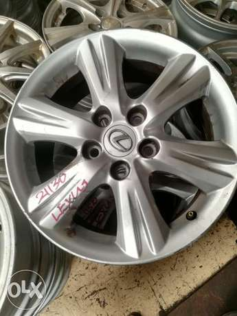 "Ex-Japan Lexus 16"" Rims Industrial Area - image 1"