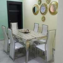 Marble dining table by 6